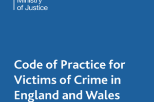 New Victims' Code of Practice Published